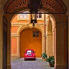 Courtyard in Siena by vivsworld