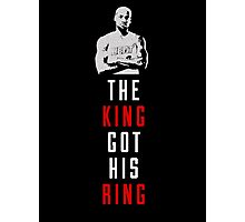 The King Got His Ring Photographic Print