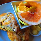 Alderbrook's Scones & Fruit by Mary-Elizabeth Kadlub