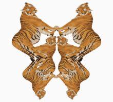 Tiger Rorschach Kids Clothes