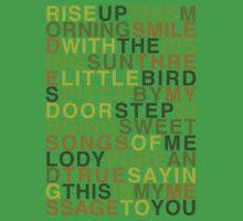 Three Little Birds - Bob Marley & The Wailers Kids Clothes