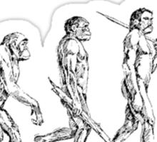 Evolution of Sheldon Sticker