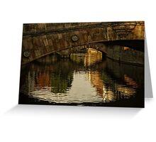 Under the Bridges Greeting Card