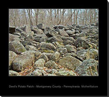 Devil's Potato Patch - Montgomery County - Pennsylvania by