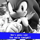 Save the world - Sonic by wearesparks