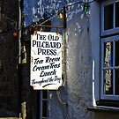 The Old Pilchard Press ~ Mousehole by Susie Peek
