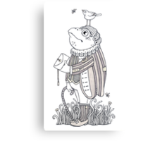 The Frog Footman Canvas Print