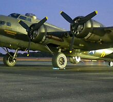 B-17 Memphis Belle in Smyrna, TN by Shoot16mm