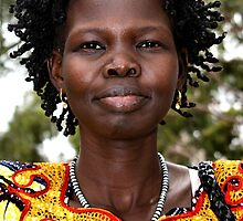 Young Sudanese Woman by Carole-Anne