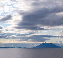 Seascape, Inside Passage, Canada, 2012. by johnrf