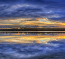 Close Encounter of the Dawn Kind (Panoramic) - Narrabeen Lakes, Sydney  - The HDR Experience by Philip Johnson