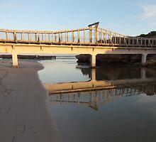 Bridge to Pickering Point by John Sharp