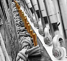 Tall Ship Cleats by Eileen McVey