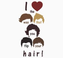I heart the way that you flip your hair by dapperc
