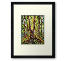 And Let There Be Light.. Framed Print
