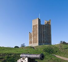 Orford Castle by Nigel Bangert