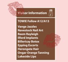 TOWIE | Visitor Information by 8eye