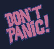 DON'T PANIC (pink) by ideedido