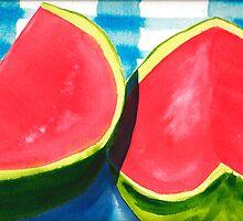 Watermelon Daze by Sally Griffin