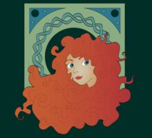 Merida Nouveau by Rachael Thomas