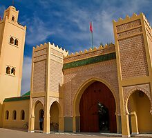 Morocco. Rissani. Mausoleum of Moulay Ali Cherif. by vadim19
