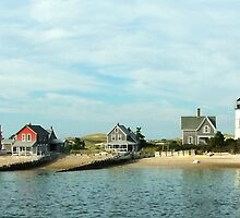 Sandy Neck Light - Cape Cod MA by jules572