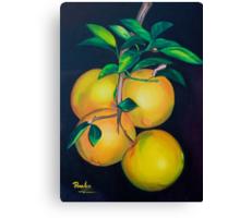 Fresh Orange Juice by Juliette Perales Canvas Print