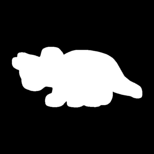 Triceratops Love Veggies - Dark by monkeyminion