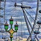 Lamps and the Wheel HDR by Colin J Williams Photography