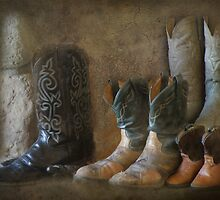Retired Boots by Kay Kempton Raade