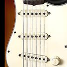 Guitar Vintage Fender Stratocaster by CaseBase