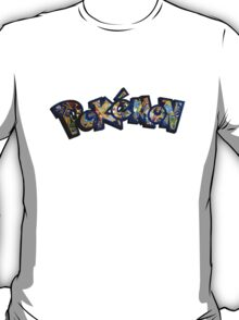 Pokemon Cards Title T-Shirt