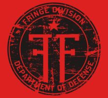 Fringe Division (dark print and stickers) Kids Clothes