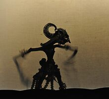 Shadow puppet by Lisa Carse