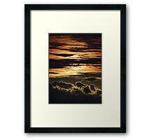 Pastel-Colored Sunset II - Puesta Del Sol De Colores Pastel Framed Print