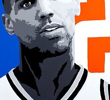 Sefolosha Painting by Ray Tennyson