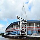The Millennium Stadium, Cardiff by Paula J James