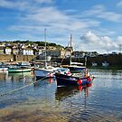 Mousehole Harbour 2 ~ Cornwall by Susie Peek
