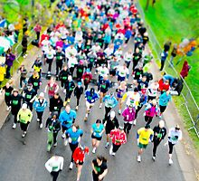 Get In Gear 2012 5K Start - Tilt Shift, Minneapolis, MN by CGrossmeier