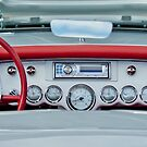 1954 Chevrolet Corvette Dashboard by Jill Reger