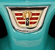 1956 Dodge Wagon Emblem by Jill Reger