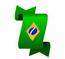 Brazilian flag by daalder