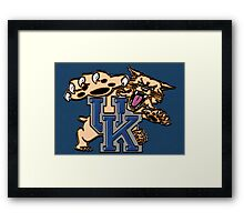 UK Wildcat Framed Print