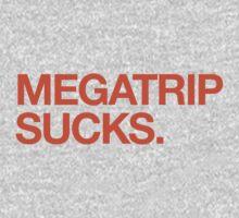 Megatrip Sucks (orange variant) T-Shirt