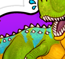 Hungry Carnotaurus Sticker