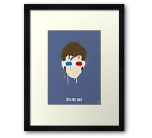 His 10th Face Framed Print