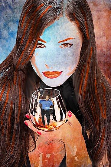 Under glass by John Ryan