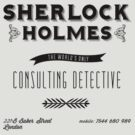 Sherlock Holmes&#x27; Business Card by kellydot
