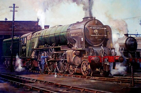 """""""Kenilworth"""" on shed. by Mike Jeffries"""