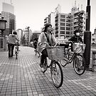 Bicycle Errands - Japan by Norman Repacholi
